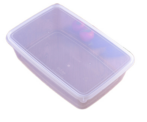 Clear Food Storage Container Set with Lid