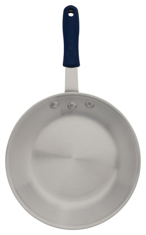 Induction Ready Natural Finish Aluminium Fry Pan with Sleeved Handle