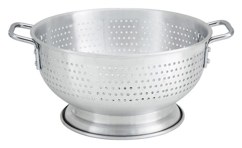 Aluminium Colander with Base & Handles