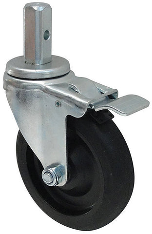 Caster with Brakes for Sheet Pan Racks & Truck
