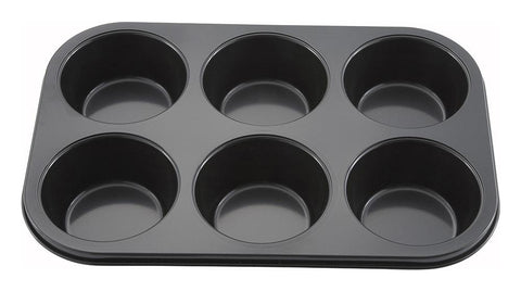 Non-stick Carbon Steel Jumbo 3oz Muffin Tin