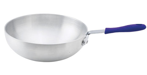 "Aluminium Natural Finish Stir Fry Pan, 11"" Diameter"