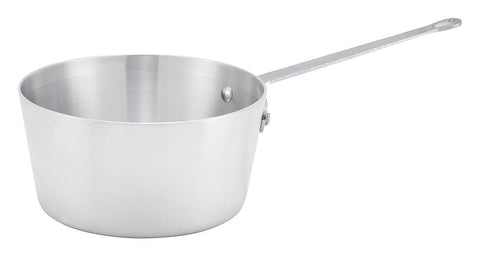 Aluminium Natural Finish Sauce Pan, 3mm