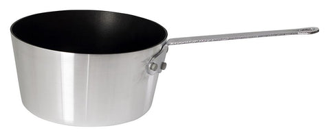 Heavy-Weight Tapered Aluminium Non-Stick Finish Sauce Pan, 3mm Thickness (1qt-10qt)