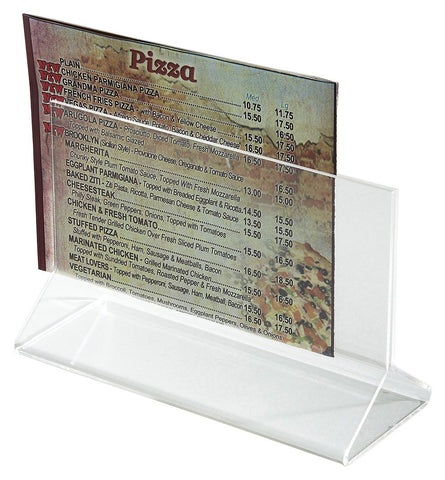 "Acrylic Menu Holder, 5.5"" x 3.5"""