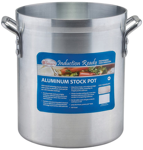 Aluminium Induction Ready Stock Pot, 4mm