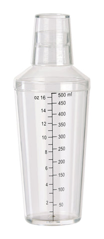Clear 16oz Bar Shaker
