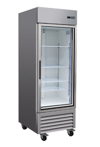 23ft³ Upright Reach-In Fridge