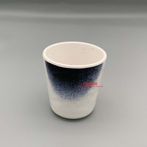 Dark Blue Ombre Melamine Tea Cup