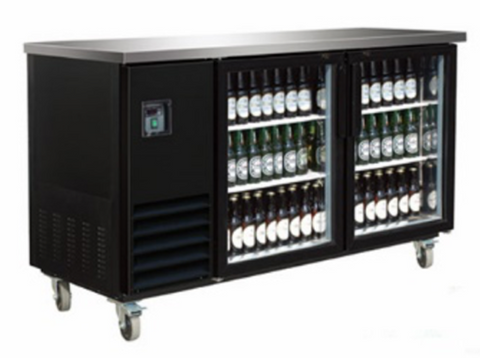 Small Glass Door Back Bar Cooler