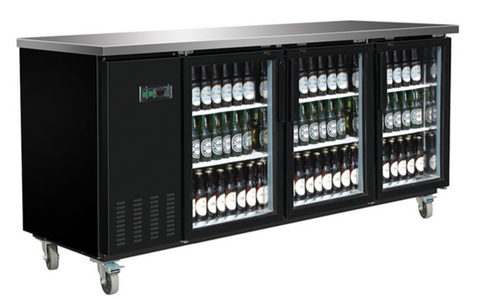 Medium Glass Door Back Bar Cooler