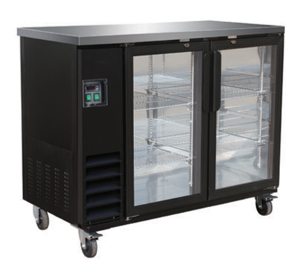 Small Sliding Door Bar Cooler