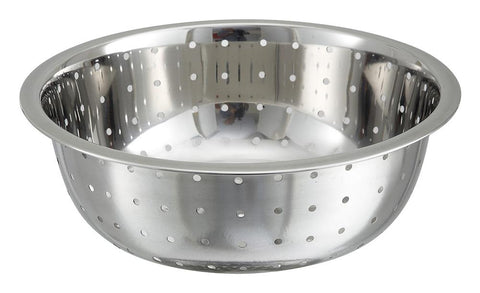 Stainless Steel Chinese Style Colanders 5mm Holes