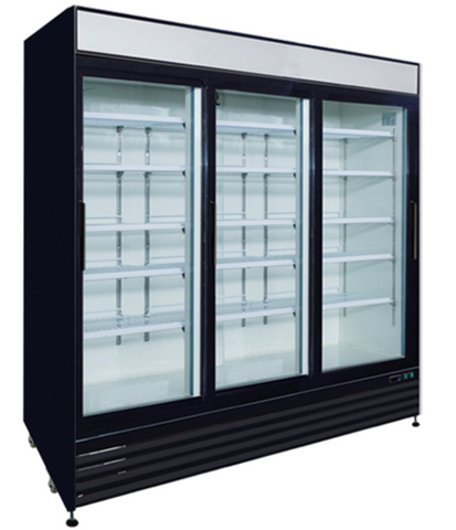 72ft³ Sliding Glass Door Merchandisers