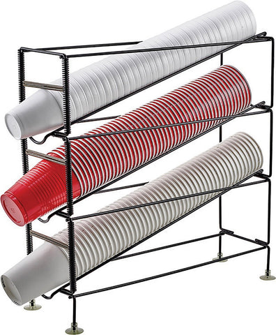 3-Tier Cup Dispensing Rack