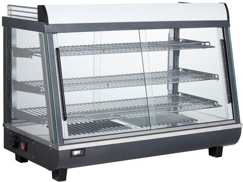 "14"" 3-Tiered Countertop Hot Display"