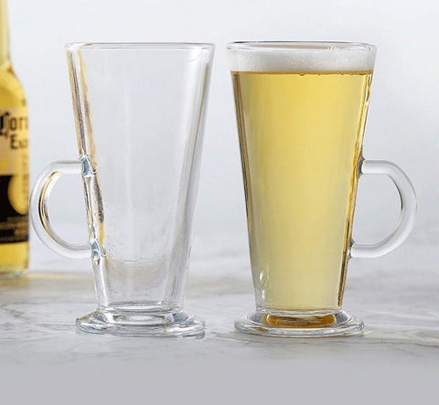 Latte Glass with Handle 230ml