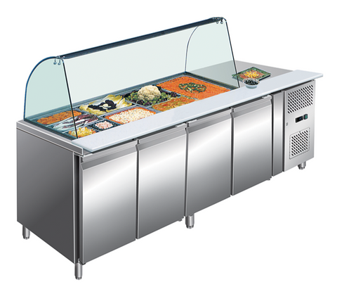 Large Refrigerated Counter Range