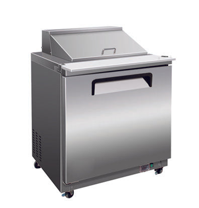 "29"" Mega Top Cooler Salad and Sandwich Prep Table"
