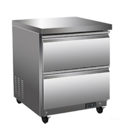 "27"" Under Counter Cooler with Drawers"