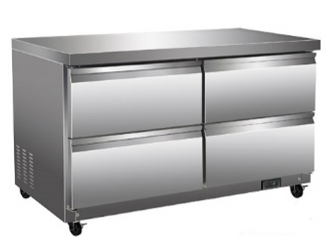 "60"" Under Counter Cooler with Drawers"