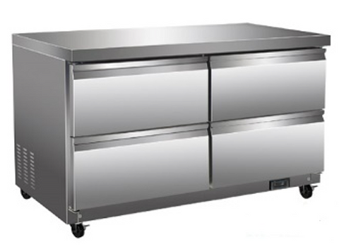 "48"" Under Counter Cooler with Drawers"