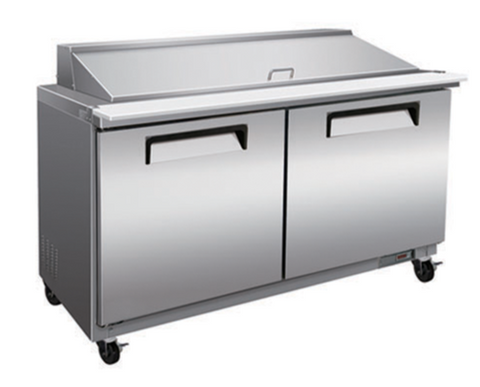 "60"" Mega Top Cooler Salad and Sandwich Prep Table"