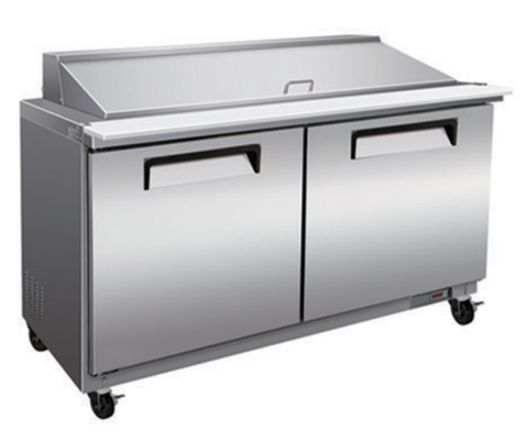 "48"" Mega Top Cooler Salad and Sandwich Prep Table"