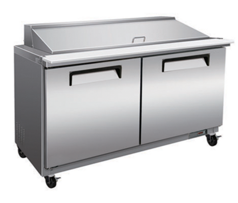 "36"" Mega Top Cooler Salad and Sandwich Prep Table"