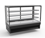 "60"" Flat Glass Cake Display Cooler"