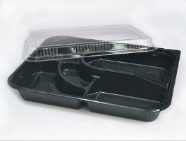 Rectangular Bento Box Food Container with Lid (200 Sets)