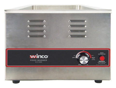Electric 4/3 Size Food Warmer