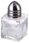 Stainless Steel & Glass 0.5oz Square Shaker