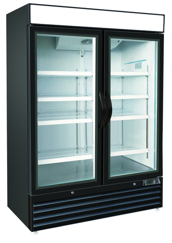 48ft³ Swing Glass Door Freezer Merchandiser