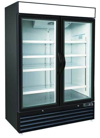 36ft³ Swing Glass Door Freezer Merchandiser