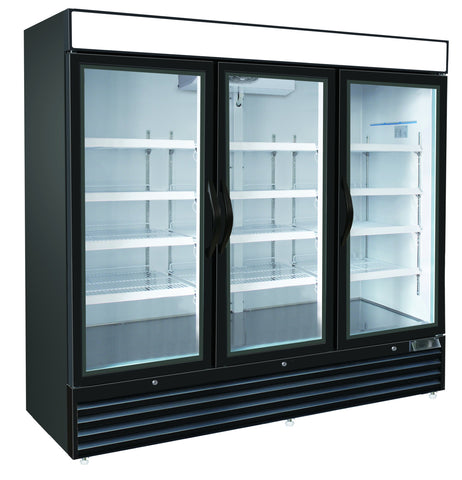 72ft³ Swing Glass Door Freezer Merchandiser