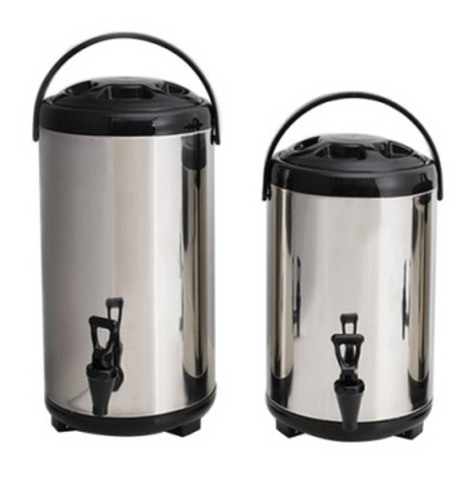 Stainless Steel Double Walled Iced Beverage Dispenser