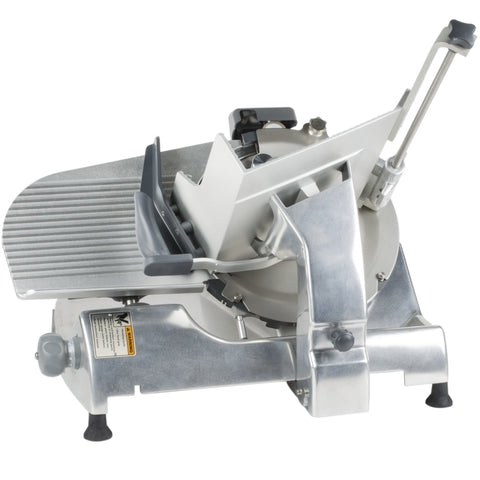 "Hobart HS6-1 13"" Manual Slicer with Removable Knife - 1/2 hp"