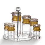 Clear Polycarbonate Condiment Holder