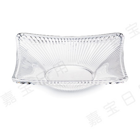 Clear Polycarbonate Serving Plate