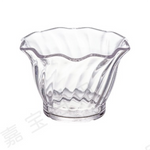 Clear Polycarbonate Tulip Ice Cream Cup