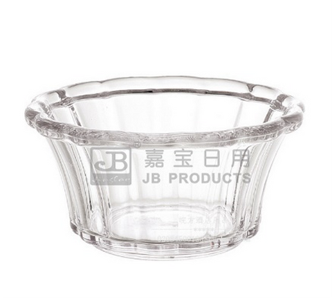 Clear Polycarbonate Tulip Ice Cream Cup (75mL)