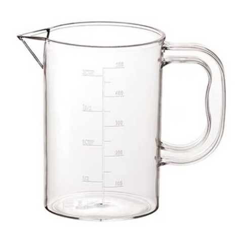 Clear Polycarbonate Measuring Cup (0.5-3L)