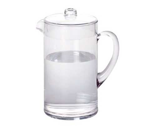 JB-8569 Clear Polycarbonate Pitcher (2.5L)