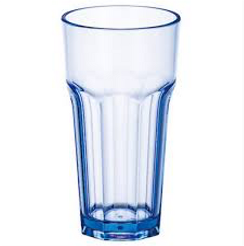Polycarbonate Etched Water Glass/Tumbler (13.5-20oz)