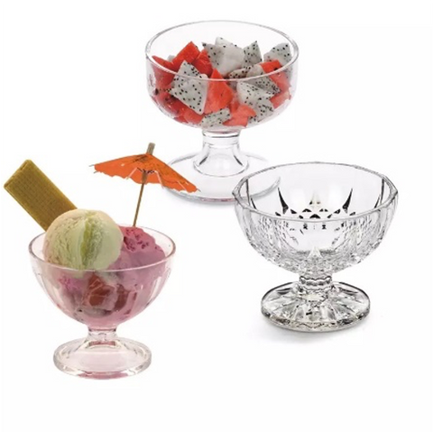 Clear Polycarbonate Royal Ice Cream Cup