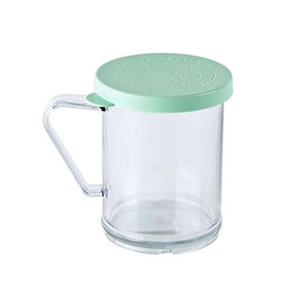 Shaker Dredge 10oz with White Parsley  Lid