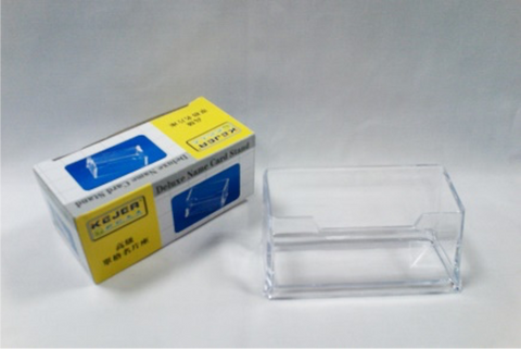 Single Compartment  Business Card Holder Stand