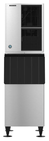 Hoshizaki KM-520MAJ Air Cooled Crescent Cuber Icemaker with B-800SF 800lb Ice Storage Bin