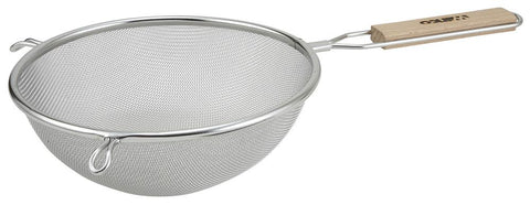 "Stainless Steel 8"" Fine Single Mesh Strainer"